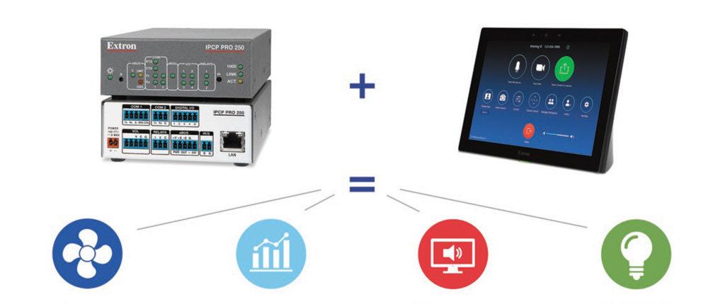 Extron y Zoom Rooms Control Audiovisual